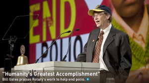 Bill Gates End Polio Now