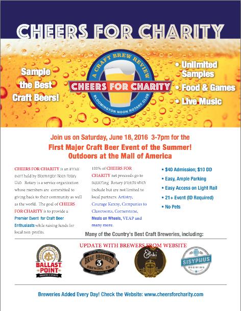 Cheers-Charity